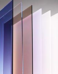 Extruderede polycarbonatplader - Klar og røgfarvet
