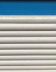 Hvid opskummet PVC