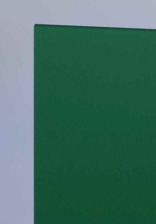 Deigaard plasts frosted akrylplade i farven grøn