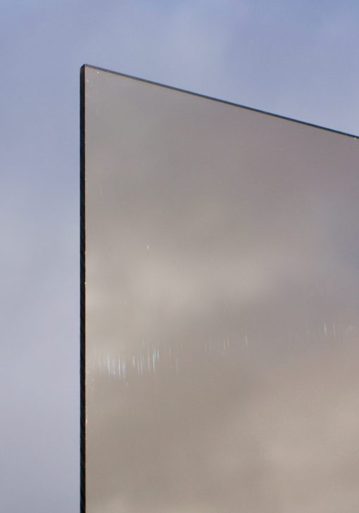 Deigaard plasts polycarbonatplade i røgfarve