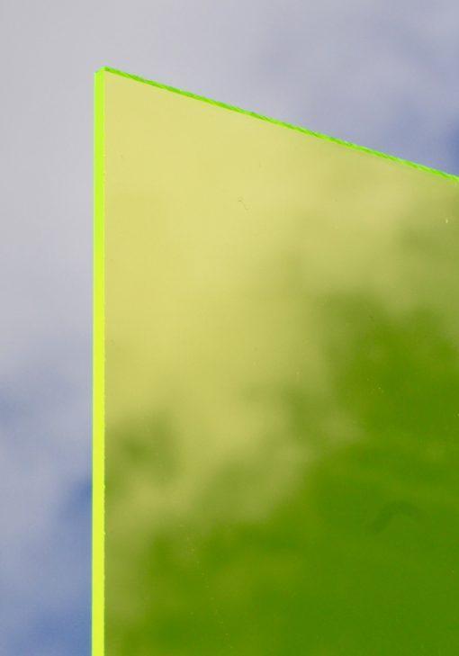 Deigaard plasts støbt akryl i neon grøn