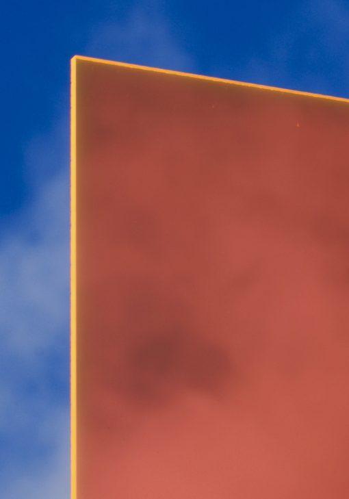 Deigaard plasts støbt akryl i neon orange